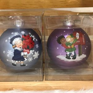 Campbell's glass ornaments